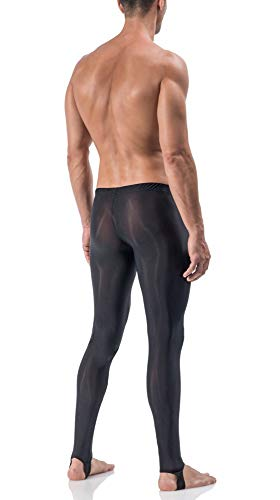 Manstore Straped Leggings M101 – schwarz - 2